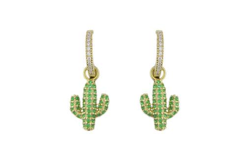 Leposa Kaktus Ohrring