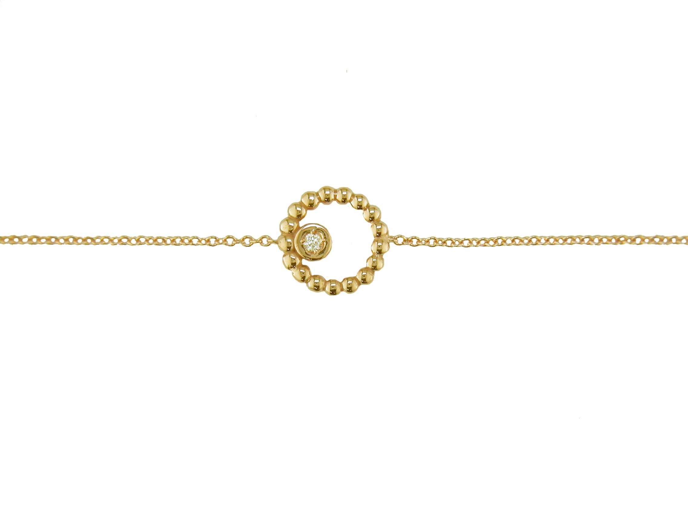 Leposa Gold Armband Kreis