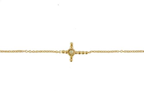 Leposa Armband GOld Kreuz