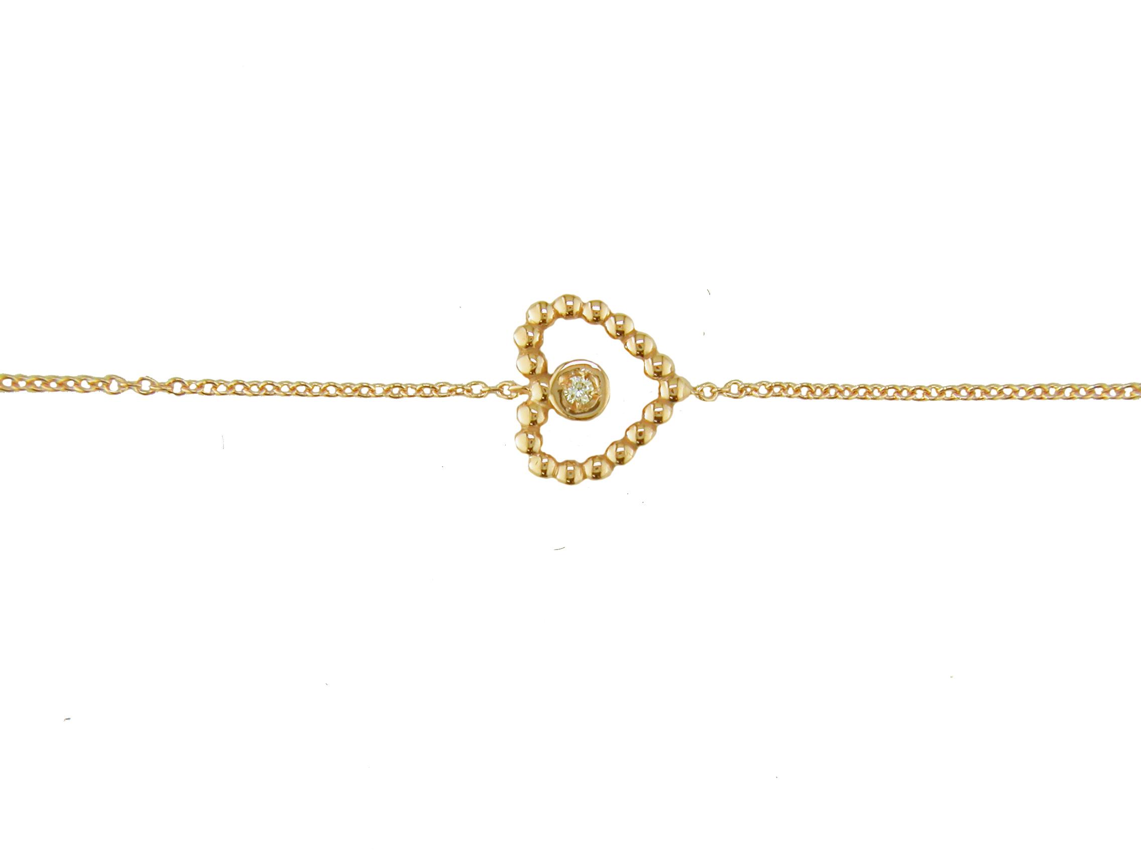 Leposa Gold Armband Herz